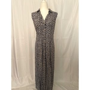 Talbots Printed Maxi Dress